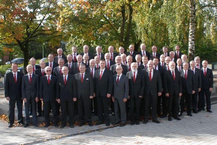 MGV, Männergesangverein, Bürgerliedertafel Dinklage, Gruppenfoto