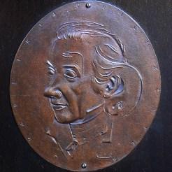 die 1961 verliehene Zelterplakette