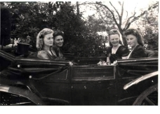 Ehrendamen Sängerfest 1947