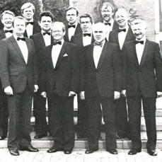 MGV-Vorstand 1985