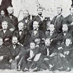 Aufnahme 1872 (das wohl älteste Bild)